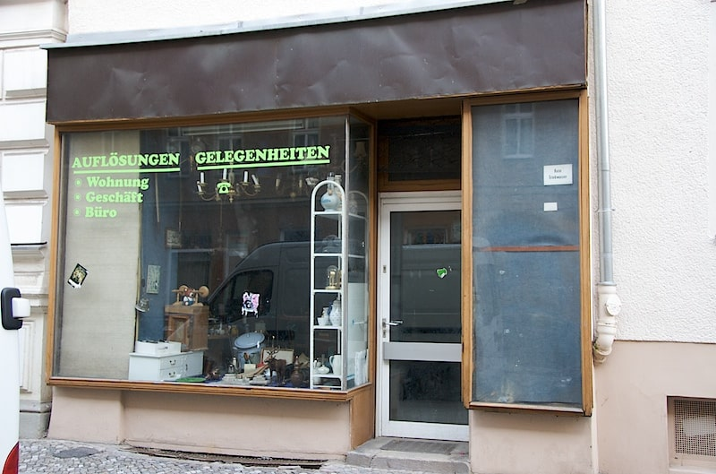 Schaufenster in Moabit
