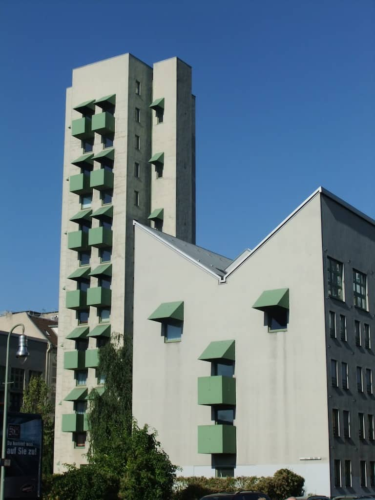 Kreuzberg Tower and Wings